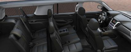 Roomy Chevy Suburbans seat 7 passengers with plenty of room for luggage!